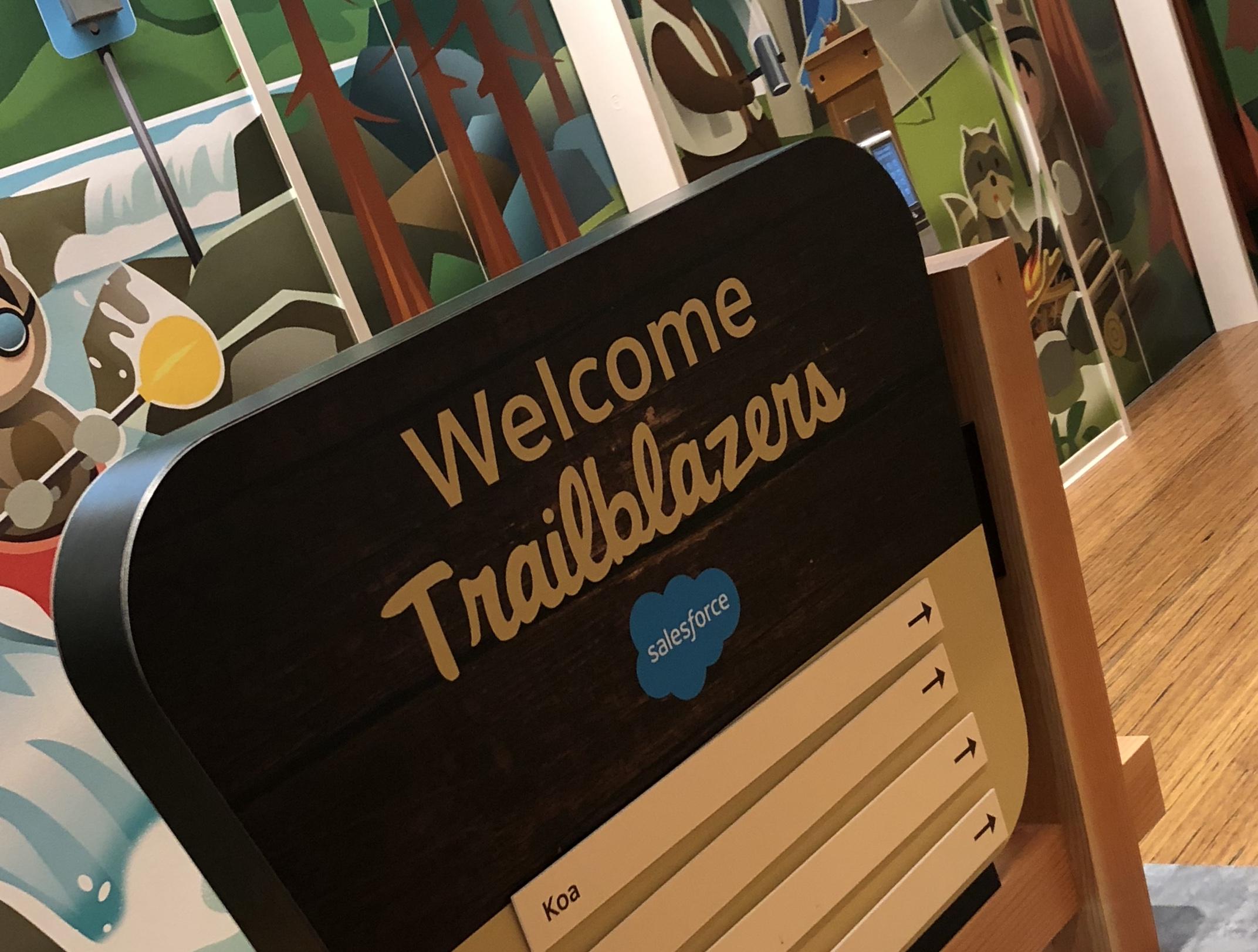 Welcome Trailblazers